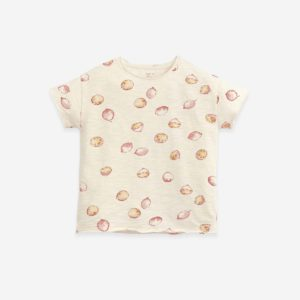 Play Up Jersey stitch T-shirt with print Botany