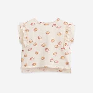 Play Up Printed organic cotton T-shirt