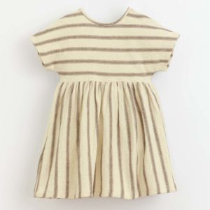 Play Up Striped woven dress