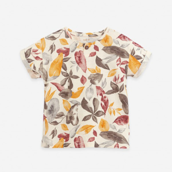 Play Up T-shirt in organic cotton and linen