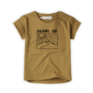 Wijs west Sproet & Sprout Sproet & Sprout T-shirt Desert Sun 1138187049723 SS21 Sproet Kleding & Accessoires Shirts T-shirts