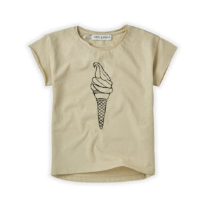 Wijs west Sproet & Sprout Sproet & Sprout T-shirt Icecream 1138187049945 SS21 Sproet Kleding & Accessoires Shirts T-shirts