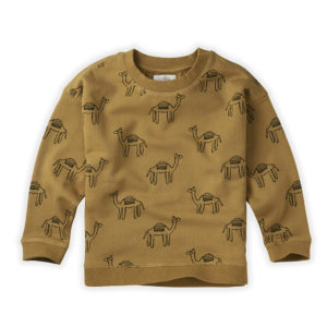 Wijs west Sproet & Sprout Sproet & Sprout Sweatshirt Camel 1138187052549 SS21 Sproet Kleding & Accessoires Sweaters & Truien