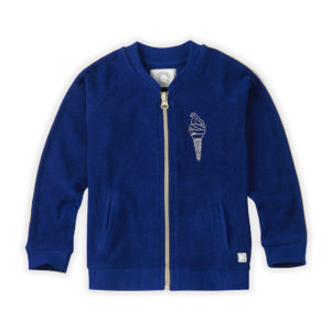Wijs west Sproet & Sprout Sproet & Sprout Track Jacket Icecream Bandit 1138187052631 SS21 Sproet Kleding & Accessoires Jassen