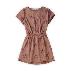 Wijs west Sproet & Sprout Sproet & Sprout Skater Dress Camel 1138187054529 SS21 Sproet Kleding & Accessoires Rokjes & Jurkjes
