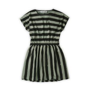 Wijs west Sproet & Sprout Sproet & Sprout Skater Dress Painted Stripe 1138187054611 SS21 Sproet Kleding & Accessoires Rokjes & Jurkjes