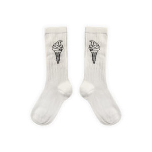Wijs west Sproet & Sprout Sproet & Sprout Sport Sock Ice Cream Off-White 1138187058022 SS21 Sproet Kleding & Accessoires Sokken & Maillots