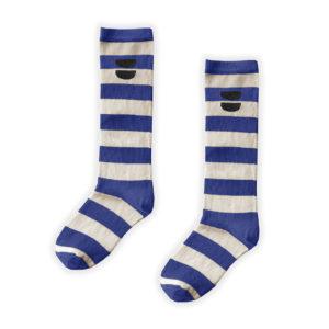 Wijs west Sproet & Sprout Sproet & Sprout High Sock Stripe Cobalt 1138187058169 SS21 Sproet Kleding & Accessoires Sokken & Maillots