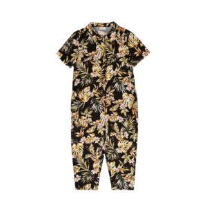 Wijs west Maed for Mini Maed for Mini Jumpsuit Flower Flamingo 7446034613640 SS21 MfM Kleding & Accessoires Jumpsuits & Overalls