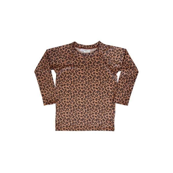 Wijs west Maed for Mini Maed for Mini Swimtop Brown Leopard Aop 7446034653677 SS21 MfM Kleding & Accessoires Zwemkleding Zwempak