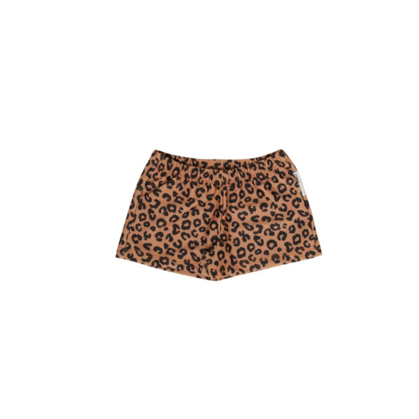 Wijs west Maed for Mini Maed for Mini Swimshorts Brown Leopard Aop 7446034654674 SS21 MfM Kleding & Accessoires Zwemkleding Zwembroek