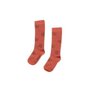 Wijs west Maed for Mini Maed for Mini Kneesocks Scarlet Scorpion 7446034659631 SS21 MfM Kleding & Accessoires Sokken & Maillots