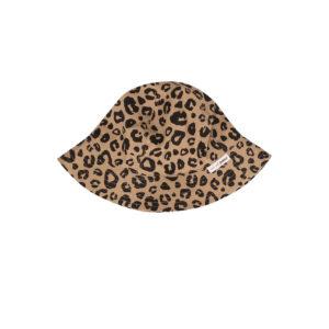 Wijs west Maed for Mini Maed for Mini Sunhat Caramel Leopard Aop 7446034663607 SS21 MfM Kleding & Accessoires Baby Hoedjes & Petjes