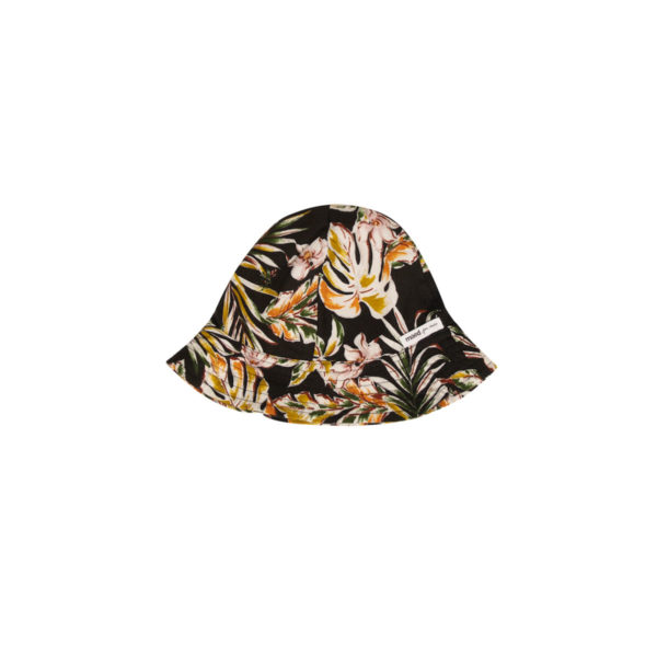 Wijs west Maed for Mini Maed for Mini Sunhat Flower Flamingo 7446034665670 SS21 MfM Kleding & Accessoires Baby Hoedjes & Petjes