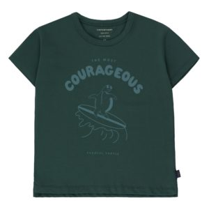 Wijs west Tiny Cottons Tiny Cottons Courageous Tee 8434525171808  Kleding & Accessoires Shirts T-shirts