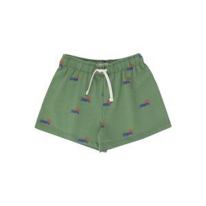 Wijs west Tiny Cottons Tiny Cottons Doggy Paddle Short 8434525177206  Kleding & Accessoires Broeken Korte Broeken