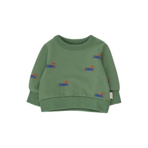 Wijs west Tiny Cottons Tiny Cottons Doggy Paddle Baby Sweatshirt 8434525177282  Kleding & Accessoires Sweaters & Truien