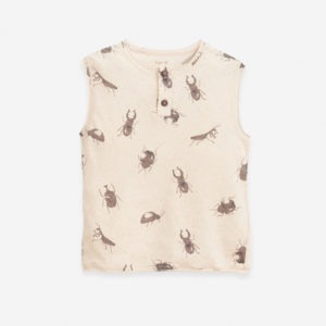 PLAY UP Sleeveless T-shirt with print