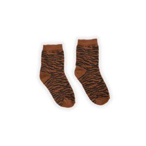Sproet & Sprout Basic socks tigre Wijs West