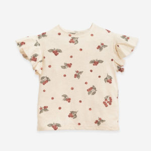T-shirt with blueberries print