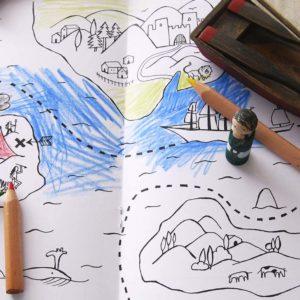 marbushka kleurboek voor jongens