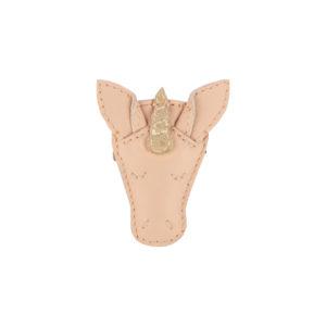 Wijs west Donsje  Donsje Josy Hairclip   Unicorn Skin Leather 8719549208151 SS21 Donsje Kleding & Accessoires Accessoires Haarbanden & Speldjes