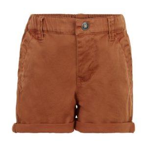 En Fant Shorts Twill Roasted Pecan