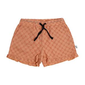 Wijs west CarlijnQ CarlijnQ Broderie - Ruffled Shorts 8720289689254 SS21 CarlijnQ Kleding & Accessoires Broeken Korte Broeken