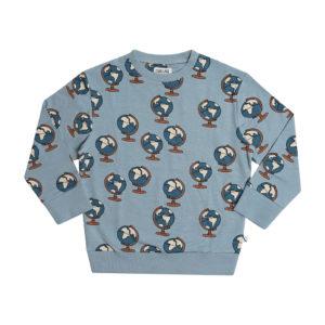 Wijs west CarlijnQ CarlijnQ Globe - Sweater 8720289685416 SS21 CarlijnQ Kleding & Accessoires Sweaters & Truien