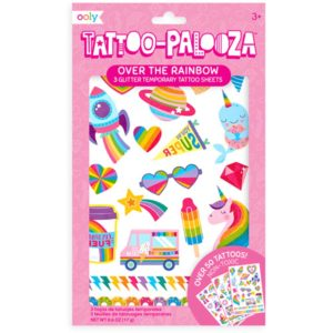 Ooly - Tattoo Palooza Temporary Tattoos - Over The Rainbow