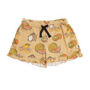 Wijs west CarlijnQ CarlijnQ Summer Fruit - Ruffled Shorts 8720195007678 SS21 CarlijnQ Kleding & Accessoires Broeken Korte Broeken