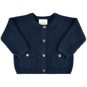 En Fant Cardigan Knit Navy