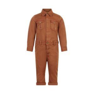 En Fant Boiler Suit Roasted Pecan