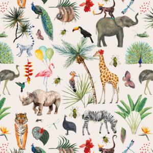 Rol Inpakpapier Jungle