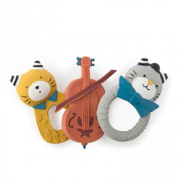 Moulin Roty Fernand rubber ring Les Moustaches