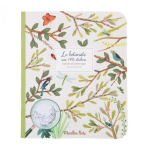 Moulin Roty Stickerboek De plantkundige Le Jardin du Moulin