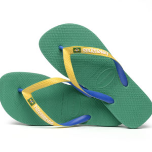 Wijs west Havaianas Havaianas Brasil Mix Tropical Green Havaianas Kleding & Accessoires Schoenen Sandalen