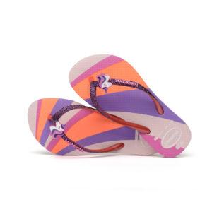 Wijs west Havaianas Havaianas Baby Palette Glow Candy Pink Havaianas Kleding & Accessoires Schoenen Sandalen