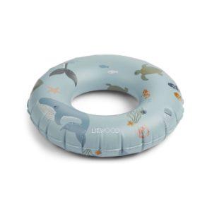 Liewood Baloo Swim Ring Sea Creature Mix