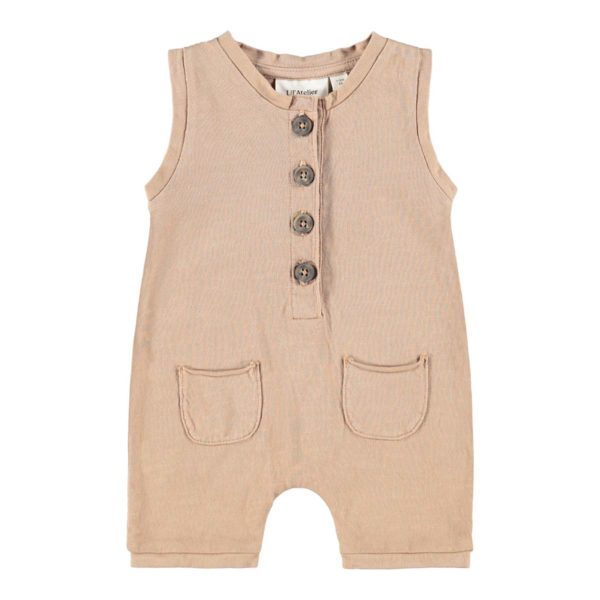 Lil' Atelier Overalls Tobacco Brown