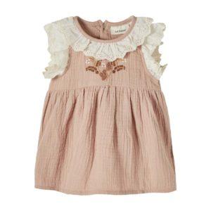 Lil Atelier Jurk roze 13192095