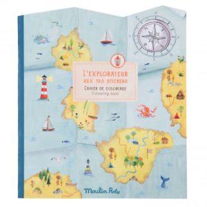 Moulin Roty Stickerboek L'explorateur Le Jardin du Moulin