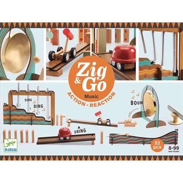 Djeco Zig & Go - 52 pcs Music