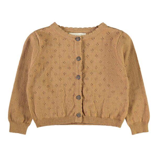 Lil' Atelier Vest Tobacco Brown