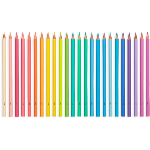 Ooly - Kleurpotloden Pastel Hues grote set