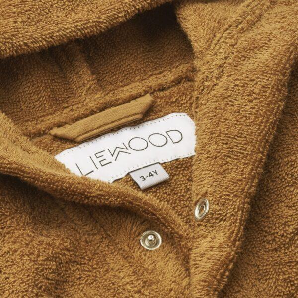 Liewood Lily Badjas Mr bear Golden Caramel