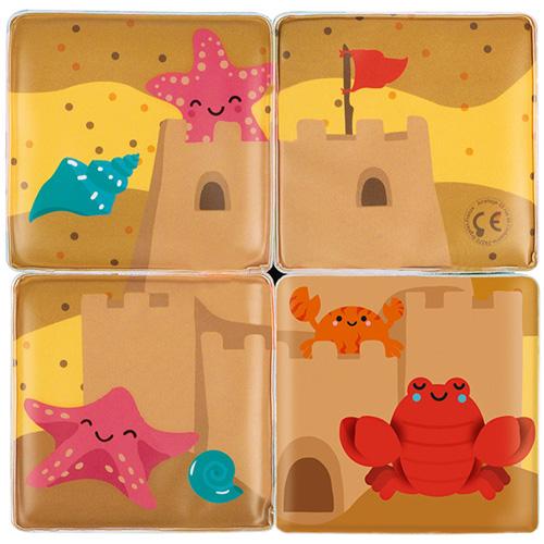 Janod Badspeelgoed 4 Bad kubussen
