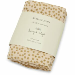 Konges Sløjd Swaddle Buttercup Yellow