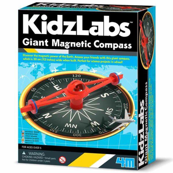 4M Kidzlabs: GIANT MAGNETISCH KOMPAS