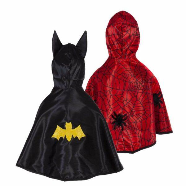 Great Pretenders Batman & Spiderman Cape 1-2 Jaar